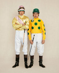 2 Argentine Jocks photographed in San Isidro, Argentina.